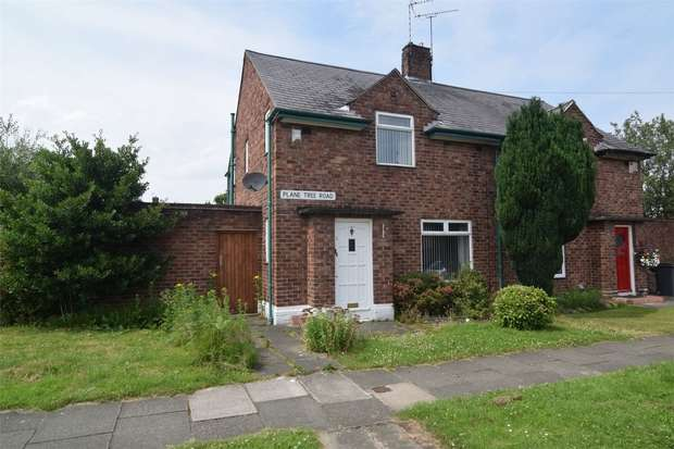 2 Bedrooms Semi Detached House for rent in Plane Tree Road, Bebington, Wirral, Merseyside