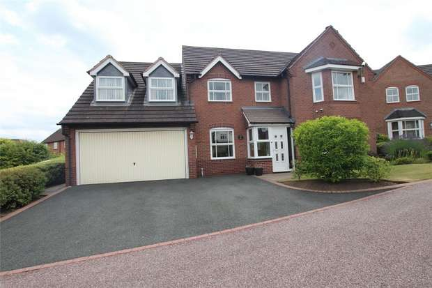 5 Bedrooms Detached House for sale in Deans Slade Drive, Lichfield, Staffordshire