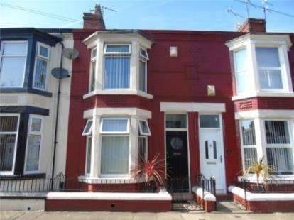 3 Bedrooms Terraced House for sale in Bellamy Road, Liverpool, Merseyside, England, L4