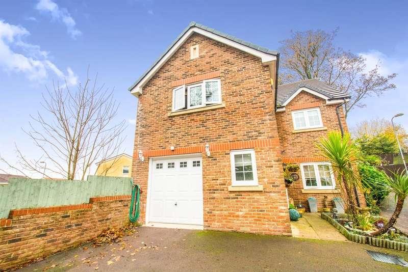 4 Bedrooms Detached House for sale in Westfield Gardens, NEWPORT
