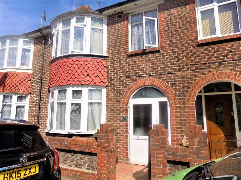 3 Bedrooms Terraced House for sale in Moneyfield Lane, Copnor, Portsmouth, PO3 5AY