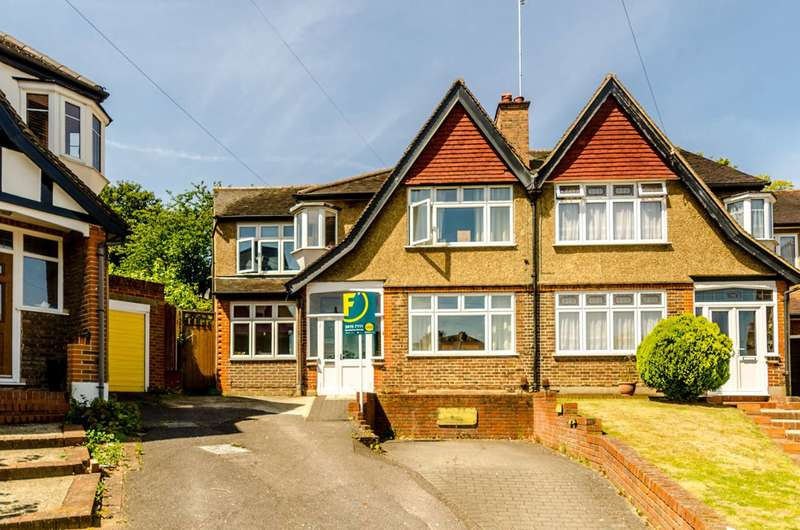 5 Bedrooms Semi Detached House for sale in Durham Road, Bromley, BR2