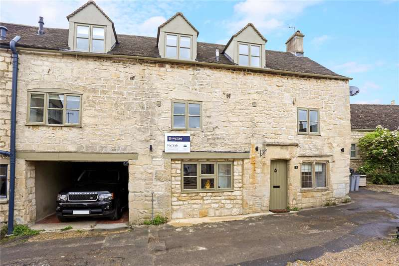 3 Bedrooms Semi Detached House for sale in George Court, Victoria Street, Painswick, Stroud, GL6