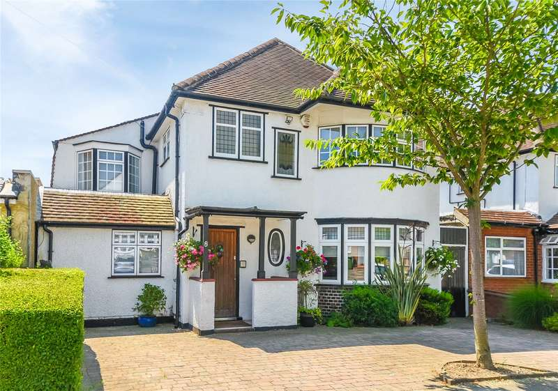 4 Bedrooms Detached House for sale in Lansdowne Road, Stanmore, HA7