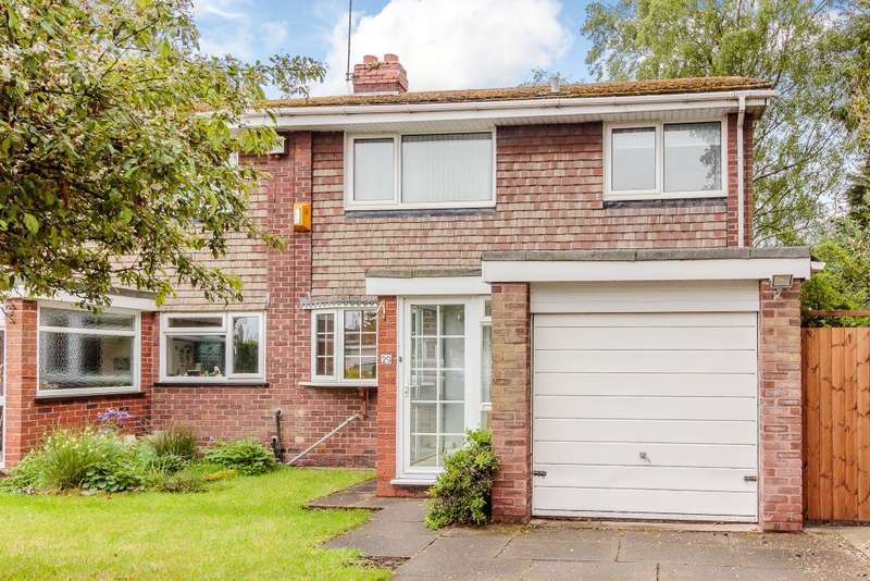 3 Bedrooms Semi Detached House for sale in Hornbrook Grove, Solihull, B92