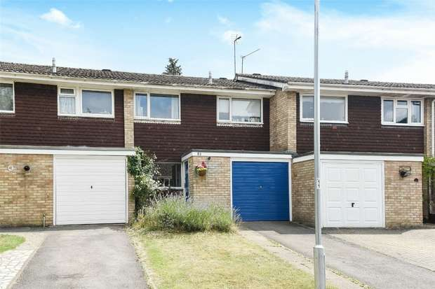 3 Bedrooms Terraced House for sale in Mccarthy Way, FINCHAMPSTEAD, Berkshire