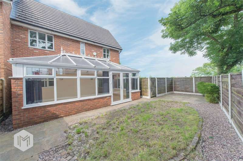 3 Bedrooms Semi Detached House for sale in Harbury Close, Middle Hulton, Bolton, Lancashire