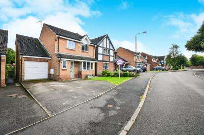 4 Bedrooms Detached House for sale in Wellington Park, Shirland, Alfreton, Derbyshire