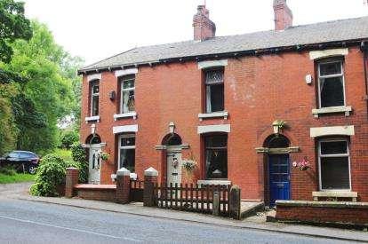 2 Bedrooms Terraced House for sale in Laurel Bank Terrace, Feniscowles, Blackburn, Lancashire, BB2