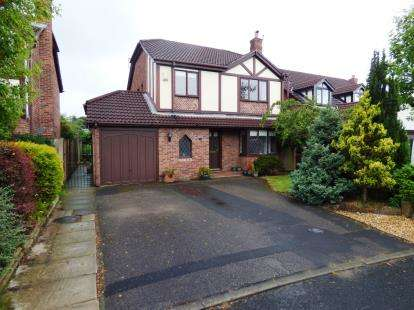 4 Bedrooms Detached House for sale in Moorlands Close, Tytherington, Macclesfield, Cheshire