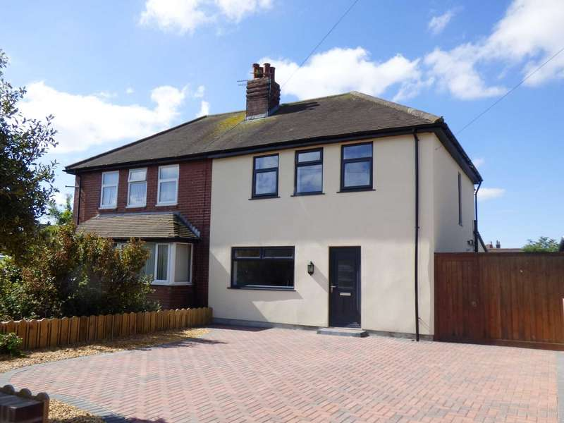 3 Bedrooms Semi Detached House for sale in Blackpool Road North, St Annes