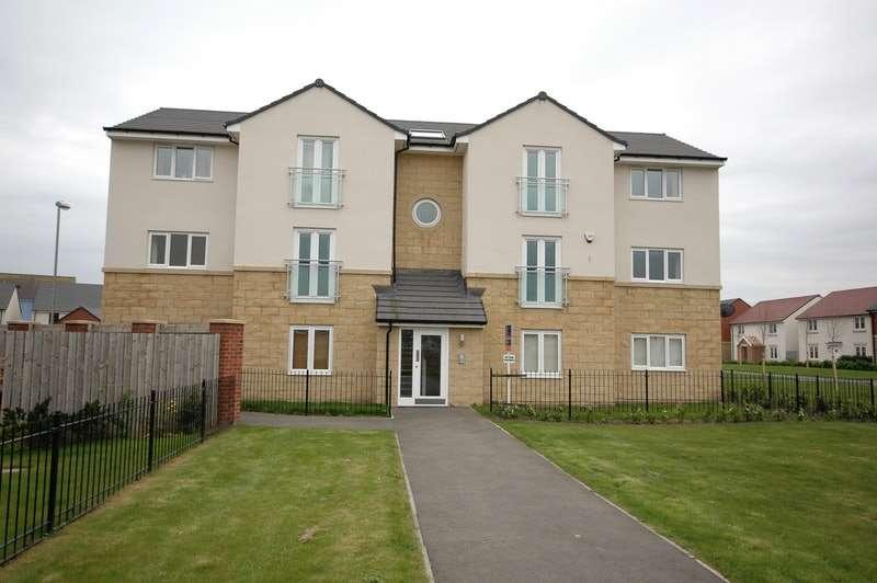 2 Bedrooms Flat for sale in Klondyke Walk, Blaydon, Tyne and Wear, NE21