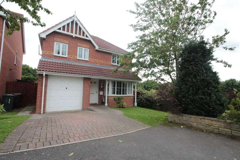 4 Bedrooms Detached House for sale in Edgewood Court, Sacriston, County Durham