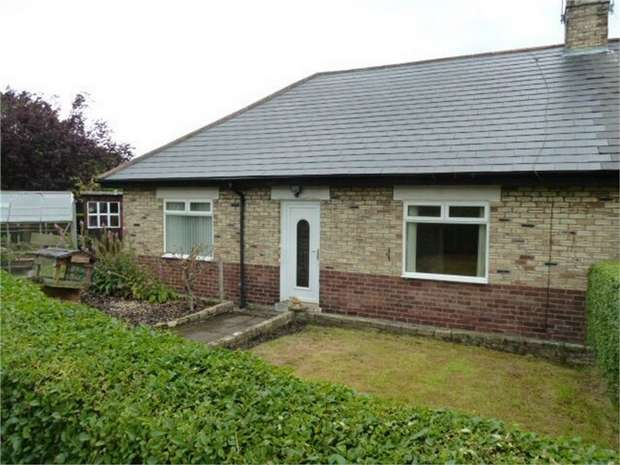 3 Bedrooms Semi Detached Bungalow for sale in The Crescent, High Spen, Rowlands Gill, Tyne and Wear