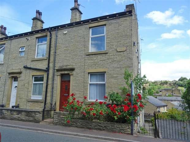 2 Bedrooms End Of Terrace House for sale in Thornhill Road, Brighouse, West Yorkshire