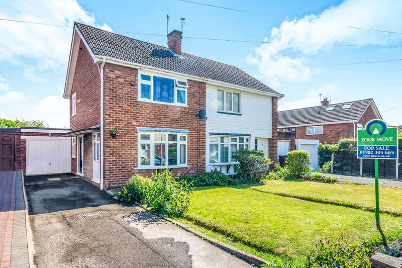 2 Bedrooms Semi Detached House for sale in Hopton Crescent, Wolverhampton, WV11