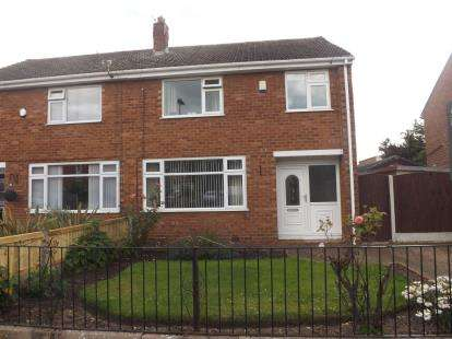 3 Bedrooms Semi Detached House for sale in Dorset Way, Woolston, Warrington, Cheshire