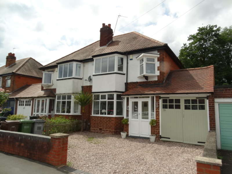 3 Bedrooms Semi Detached House for sale in Brookvale Road, Solihull