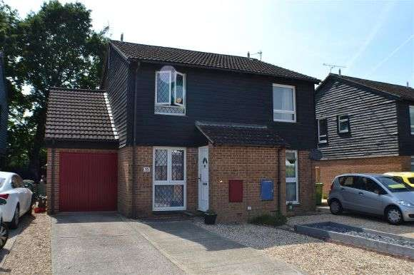2 Bedrooms Semi Detached House for sale in Weyhill Close, Tadley