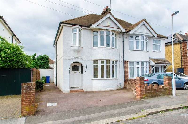 3 Bedrooms Semi Detached House for sale in Eastwood Road, SITTINGBOURNE