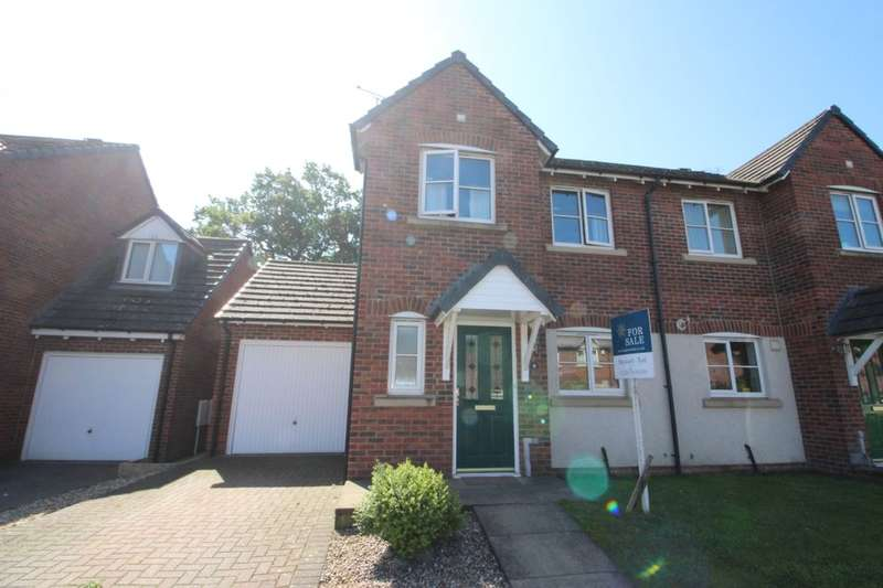 3 Bedrooms Semi Detached House for sale in Whitfell Avenue, Carlisle, CA2