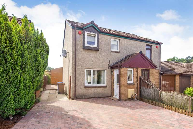 3 Bedrooms Semi Detached House for sale in Rowan Crescent, Falkirk
