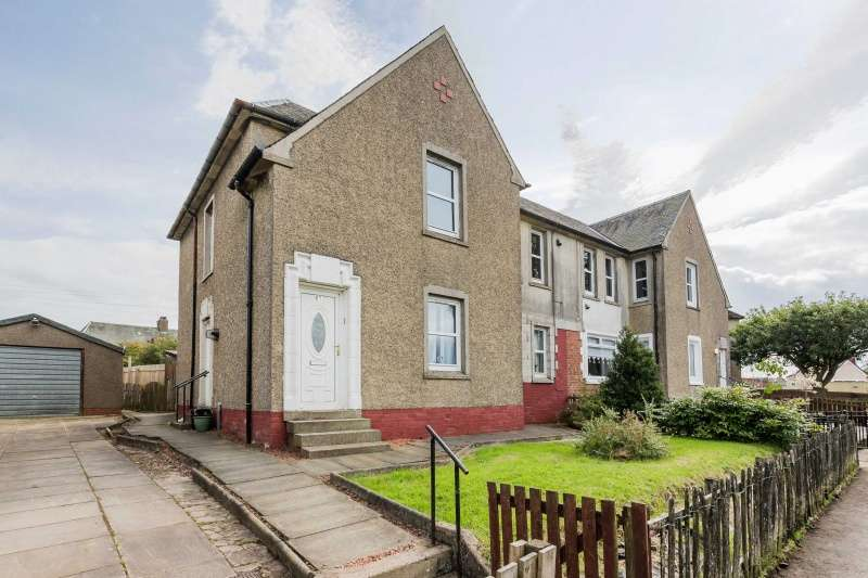 2 Bedrooms Flat for sale in Woodpark, Lesmahagow, Lanark, ML11 0BS