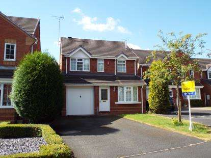 3 Bedrooms Detached House for sale in Fradgley Grove, Uttoxeter, Staffordshire