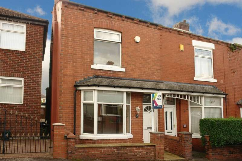 2 Bedrooms End Of Terrace House for sale in 66 Seville Street, Royton