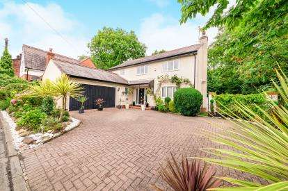 4 Bedrooms Detached House for sale in Greenleach Lane, Worsley, Manchester, Greater Manchester