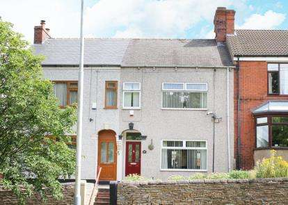 2 Bedrooms Terraced House for sale in Hasland Road, Hasland, Chesterfield, Derbyshire