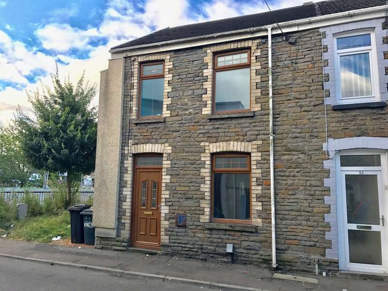 2 Bedrooms End Of Terrace House for sale in King Street, Neath