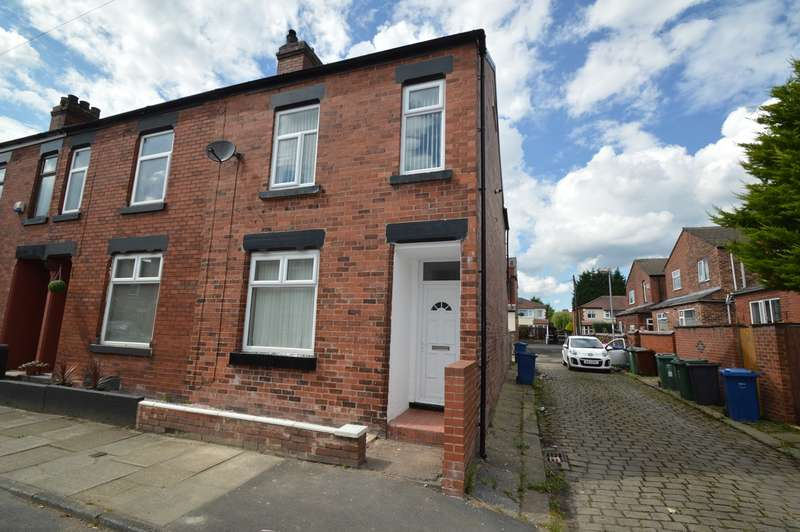 3 Bedrooms End Of Terrace House for sale in Russell Street, Prestwich, Manchester, M25