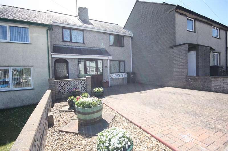 3 Bedrooms Terraced House for sale in Bro Llewelyn, Llandegfan
