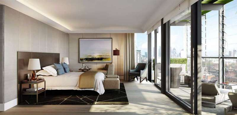 3 Bedrooms Apartment Flat for sale in Albert Embankment, Merano Residences, London