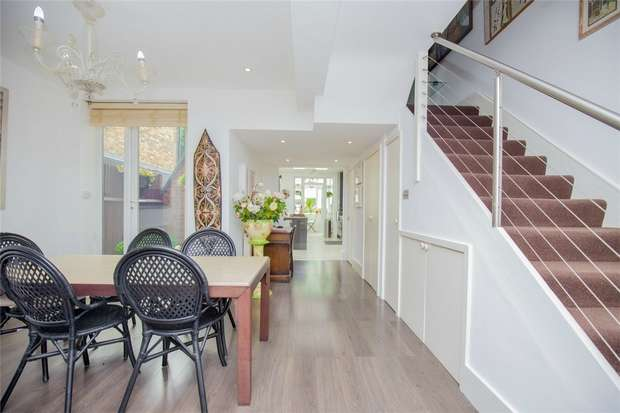 4 Bedrooms Terraced House for sale in Windermere Avenue, Queens Park, London
