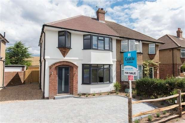 3 Bedrooms Semi Detached House for sale in Holly Avenue, WALTON-ON-THAMES, Surrey