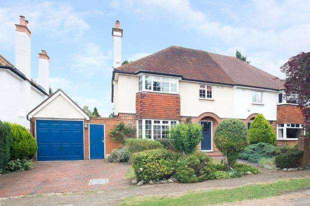 4 Bedrooms Semi Detached House for sale in Epsom, Surrey, England