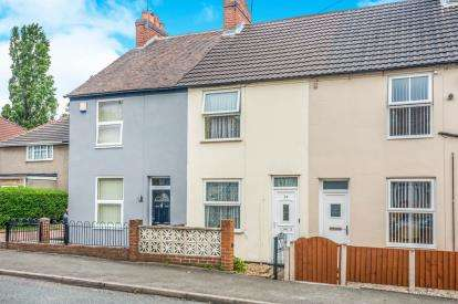 2 Bedrooms Terraced House for sale in Huntington Terrace Road, Cannock, Staffordshire, Cannock