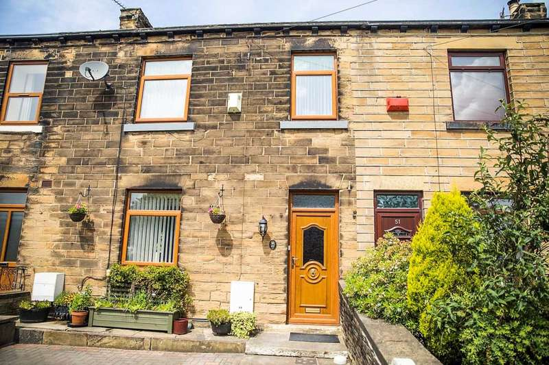 2 Bedrooms Terraced House for sale in Whitehall Road East, Birkenshaw