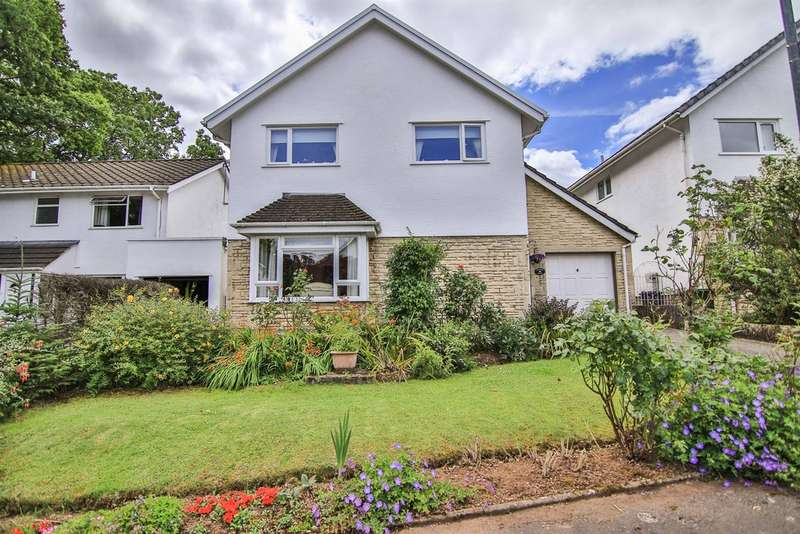 4 Bedrooms Detached House for sale in Millrace Close, Lisvane, Cardiff