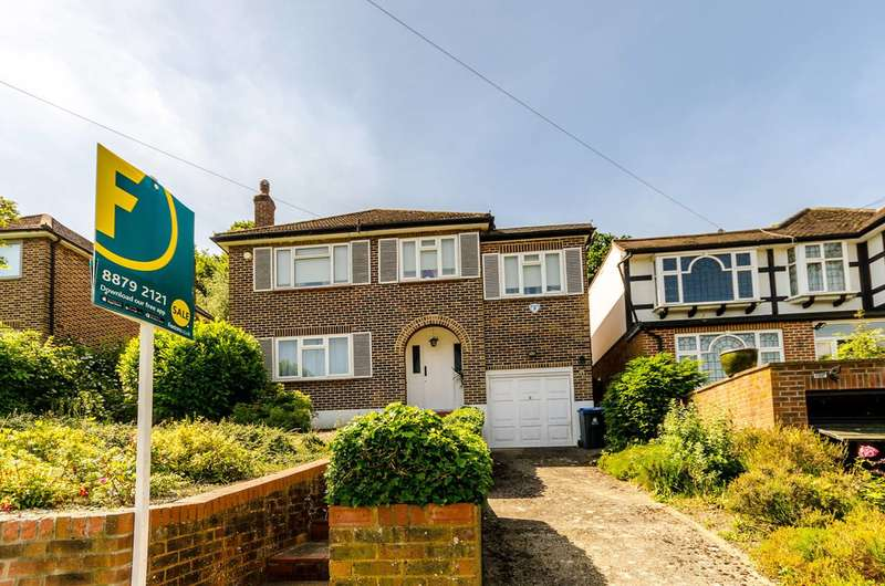 4 Bedrooms Detached House for sale in Ullswater Crescent, Kingston Vale, SW15