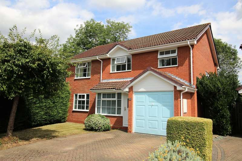 4 Bedrooms Detached House for sale in Kings Pightle, Chineham, Basingstoke, RG24