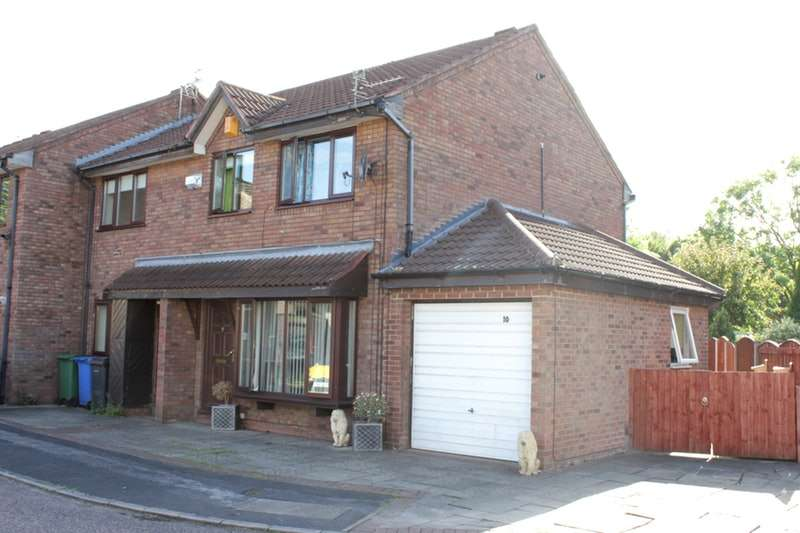 3 Bedrooms End Of Terrace House for sale in Tweedsmuir Close, Warrington, Cheshire, WA2