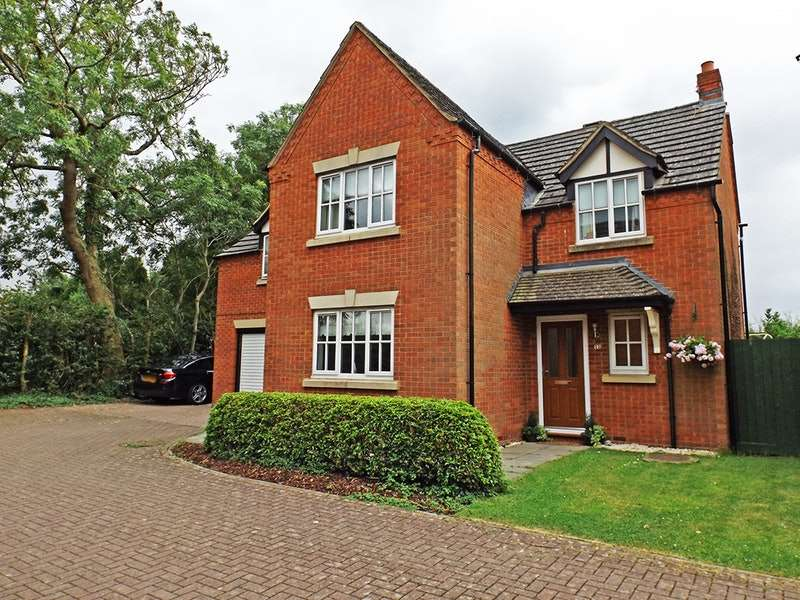 4 Bedrooms Detached House for sale in 72 Old Forge Drive, West Haddon, Northamptonshire, NN6