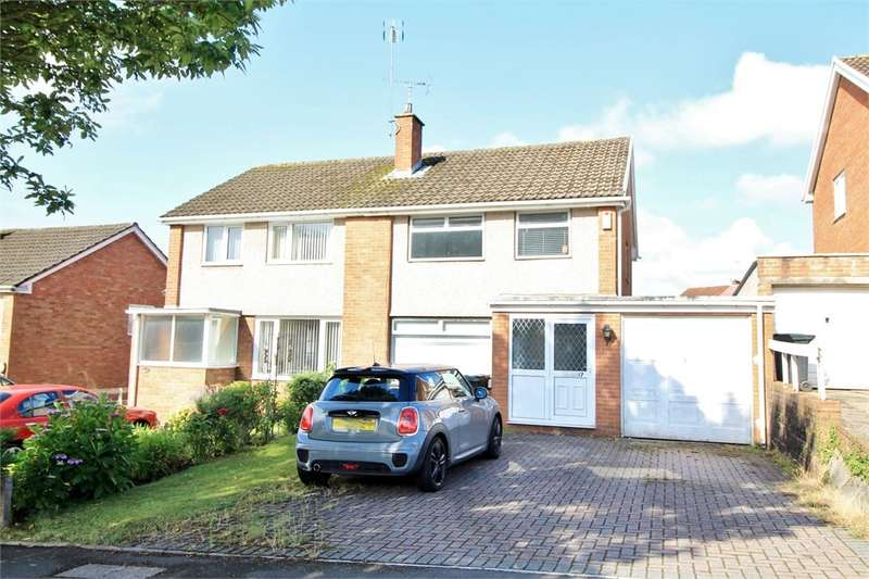 3 Bedrooms Semi Detached House for sale in Rowan Way, NEWPORT, NP20