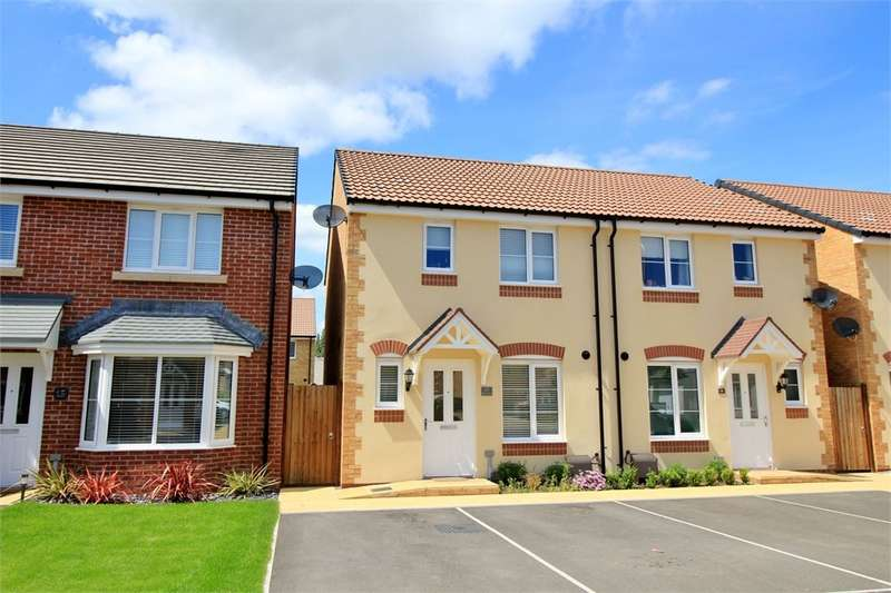 3 Bedrooms Semi Detached House for sale in Spitfire Road, NEWPORT, NP10