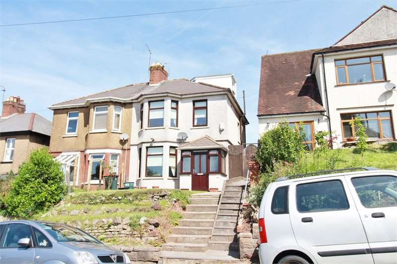 3 Bedrooms Semi Detached House for sale in Christchurch Road, St Julians, NEWPORT, NP19