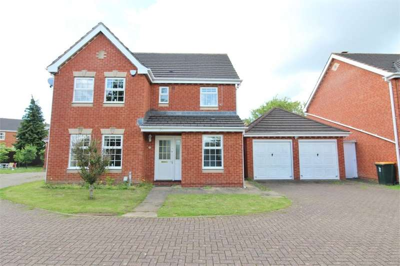 4 Bedrooms Detached House for sale in Chichester Close, Newport, NP19