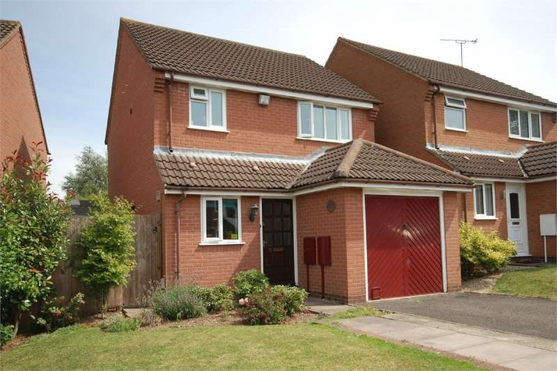 3 Bedrooms Detached House for sale in Mellish Road, RUGBY, Warwickshire